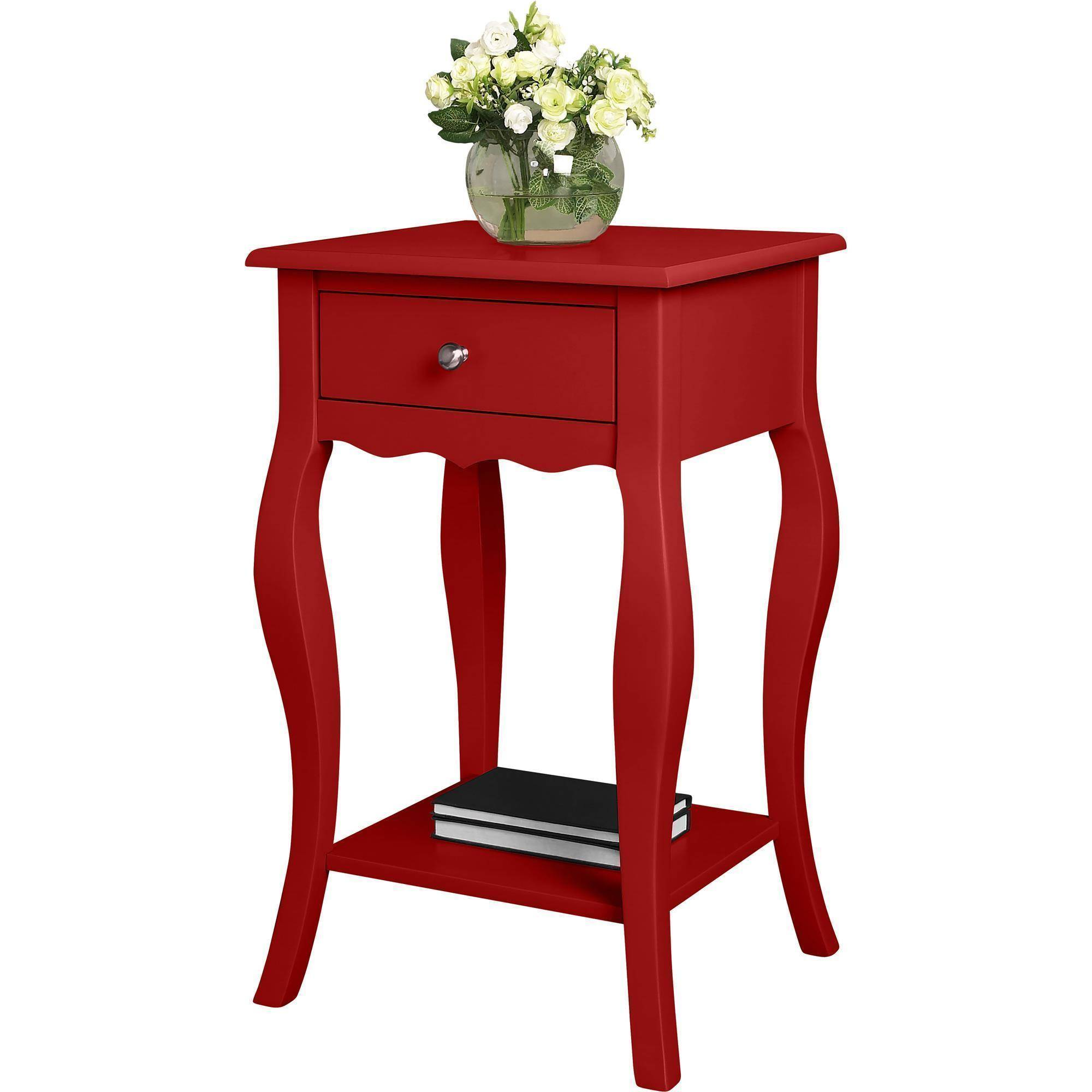 ameriwood home kennedy accent table gray  walmartcom -