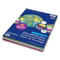 "SunWorks Construction Paper Smart-Stack, 12"" x 18"", Assorted Colors, 150 Sheets"