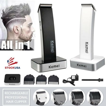 Kemei KM-619 Electric Hair Trimmer Rechargeable Shaver Cutting Machine Adult Child Cordless Hair Clipper
