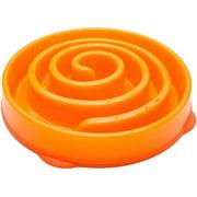 Kyjen Dog Games Slo-Bowl Slow Feeder Coral, Orange