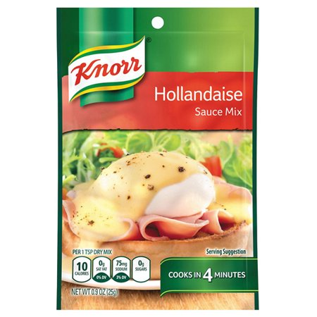 Knorr Hollandaise Sauce Mix 0.9 oz Pouches - Pack of