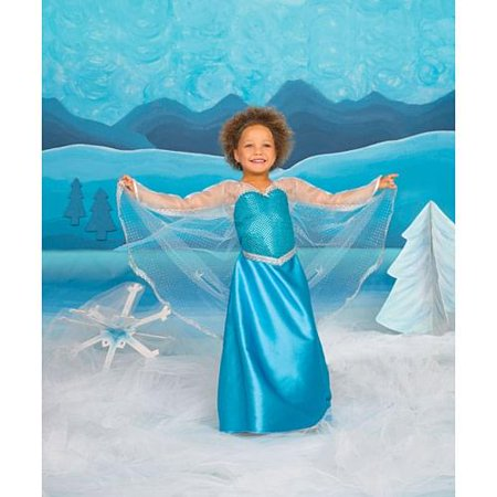 Ice Crystal Queen Child Costume Medium - Creative Halloween Customs