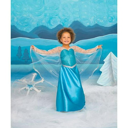 Ice Crystal Queen Child Costume Medium - Costume Ideas Creative