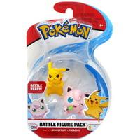 "Pokémon 2"" & 3"" Jigglypuff & Squirtle Figure Pack"