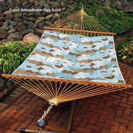 Algoma Reversible Quilted Polyester Tree Hammock