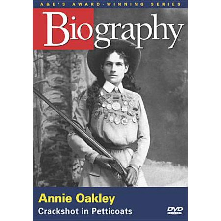 Biography: Annie Oakley (DVD) (Stores That Sell Oakleys)