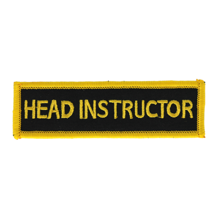 Head Instructor Patch
