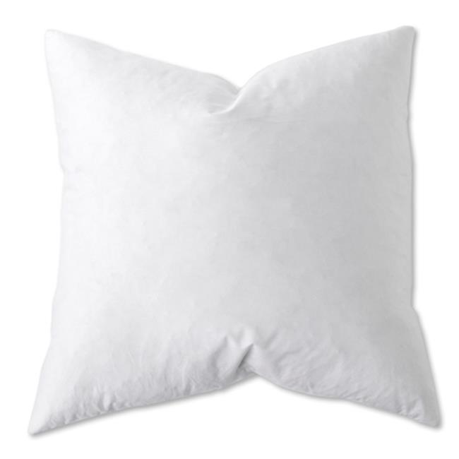Sunflower EDB40 White Down Blend EURO Pillow 40 X 40 In Pack Of 40 Best 28 X 28 Pillow Insert