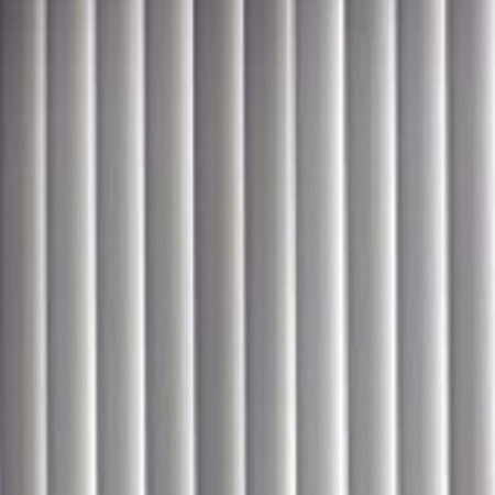 PVC Vertical Blind Replacement Slat Smooth (White) 10 Pk 82 1/2 x 3