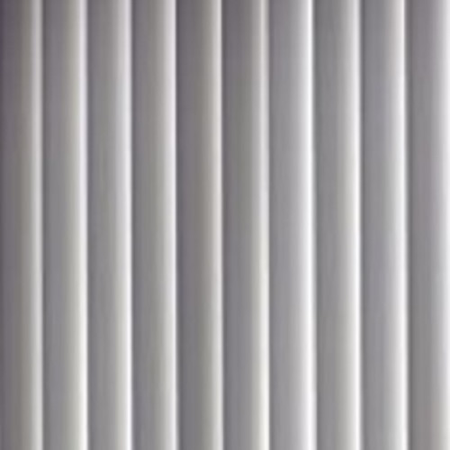 PVC Vertical Blind Replacement Slat Smooth (White) 10 Pk 82 1/2 x 3 1/2