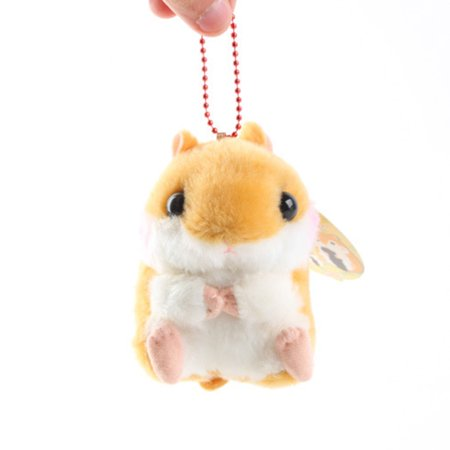 Lovely Plush Doll Small Hamster Guinea Pig Shaped Plush Doll For Necklace Chain Pendant
