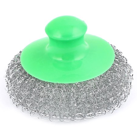 Kitchen Pot Pan Bowel Stainless Steel Wire Scrubber Cleaning Brush Cleaner (Stainless Steel Wire Brush)