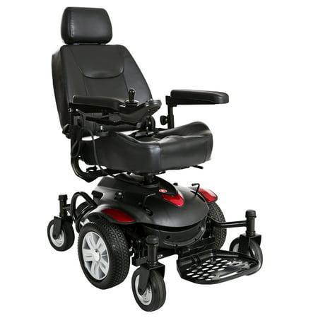 Drive Medical Titan AXS Mid-Wheel Power Wheelchair, Captain