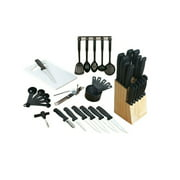 Imperial Home Gibson Flare 41 Piece Cutlery Combo Set