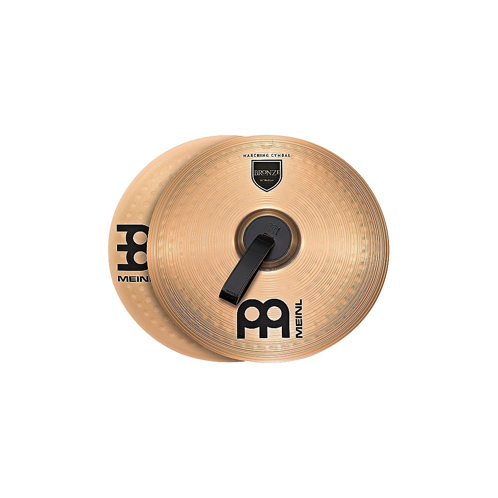 Meinl Bronze Marching Medium Cymbal Pair 16 in. by Meinl