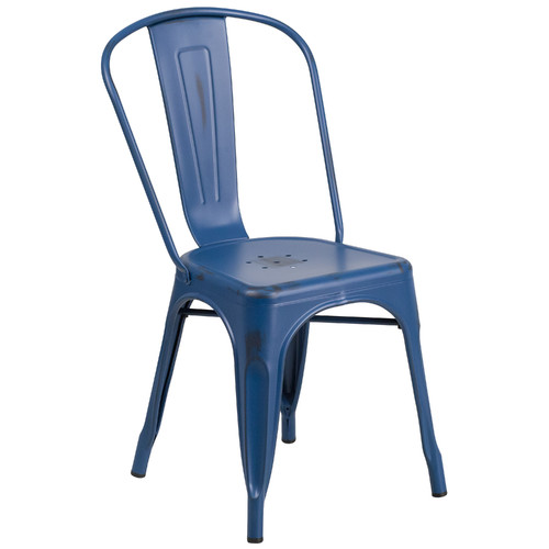 Breakwater Bay Sutter Metal Stackable Chair