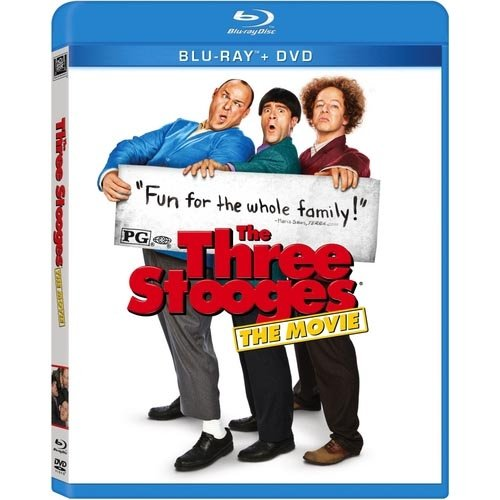 The Three Stooges (2012) (Blu-ray + DVD) (Widescreen)