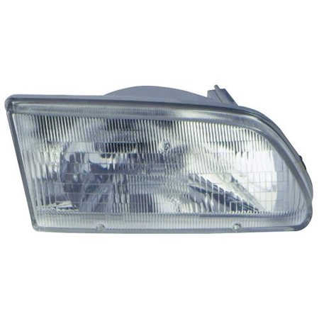 Go-Parts » 1995 - 1996 Toyota Tercel Front Headlight Headlamp Assembly Front Housing / Lens / Cover - Left (Driver) Side 81150-16550 TO2502111 Replacement For Toyota Tercel