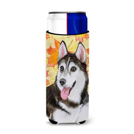 Siberian Husky No. 2 Fall Michelob Ultra Hugger for Slim Cans - image 1 de 1