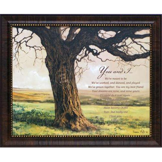 Artistic Reflections P357 19 x 23 in. Forever You & I Bonnie Mohr Love Landscape Art Print - image 1 of 1