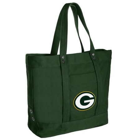 Green Bay Packers Women's High End Canvas Tote - No Size Nfl Canvas Tailgate Tote