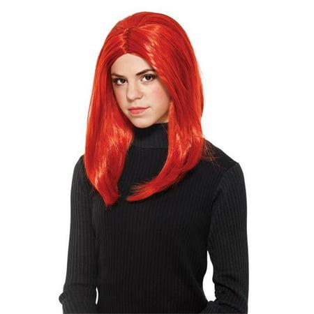 Morris Costumes RU53056 Black Widow Child - Willow Costume