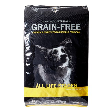 Potato Dry Food Formula - Diamond Naturals Grain Free Chicken & Sweet Potato Formula Dry Dog Food, 28 lb