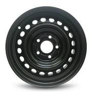 "Road Ready 15"" Steel Wheel Rim for 2006-2011 Honda Civic 15x6.5 inch Black 5 Lug"