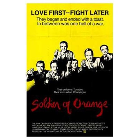 Posterazzi MOV198643 Soldier of Orange Movie Poster - 11 x 17 in. - image 1 of 1