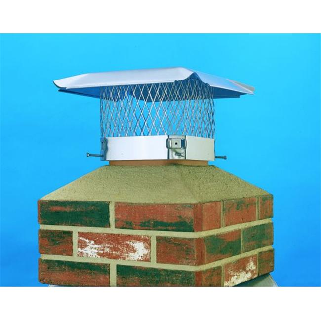 Lindemann 150198 Hy-C 9x18 HY-C S. S.  Chimney Cover
