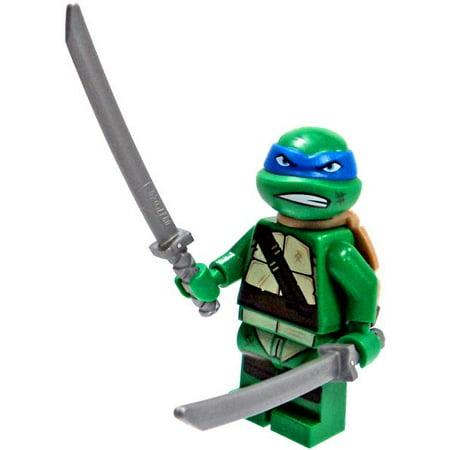 Leonardo & Swords Minifigure No Packaging Teenage Mutant Ninja (Lego Teenage Mutant Ninja Turtles Karai Bike Escape)