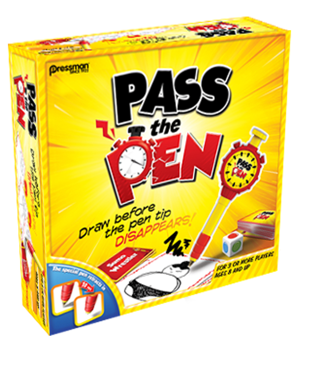 Pressman Toy Pass the Pen Drawing Game Ages 8 and Up by Pressman Toy