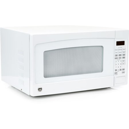 Jes2051dnbb 24 2 0 Cu Ft Capacity 1200 Watt Countertop Microwave Oven Auto And Time Defrost 16 Turntable Electronic Touch Controls In Black