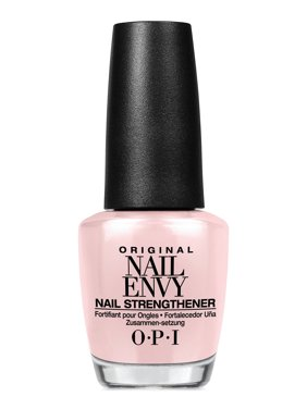 ($18 Value) OPI Nail Envy Nail Strengthener Polish, Bubble Bath, 0.5 fl oz