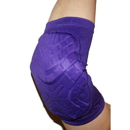 Adidas Techfit adiPOWER Men's Basketball Compression Padded Elbow Arm Sleeve - PURPLE ()