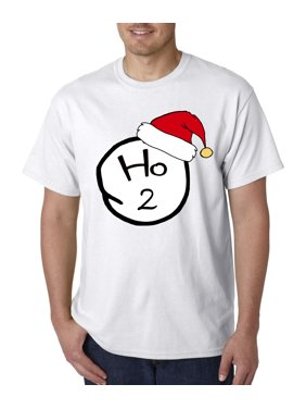 5474162433a Product Image New Way 604 - Unisex T-Shirt Ho 1 One Christmas Hat Thing  Parody
