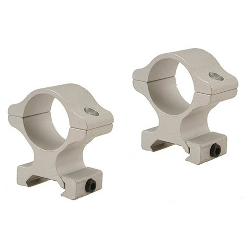 "Leupold 57833 Rifleman Rings, 1"" High, 1"" Diameter, Silver"
