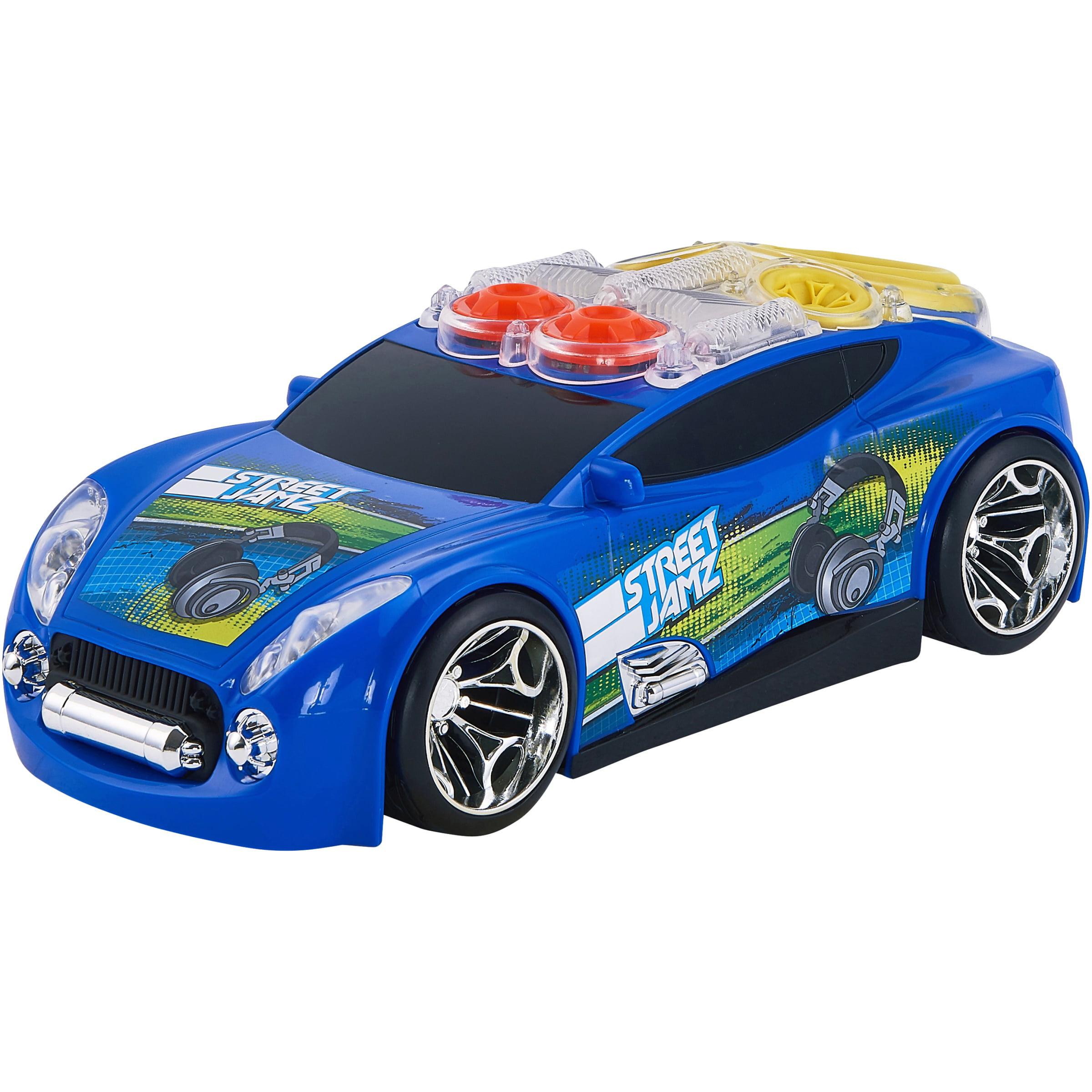 Adventure Force Lights & Sound Street Jamz Motorized Vehicle, Blue