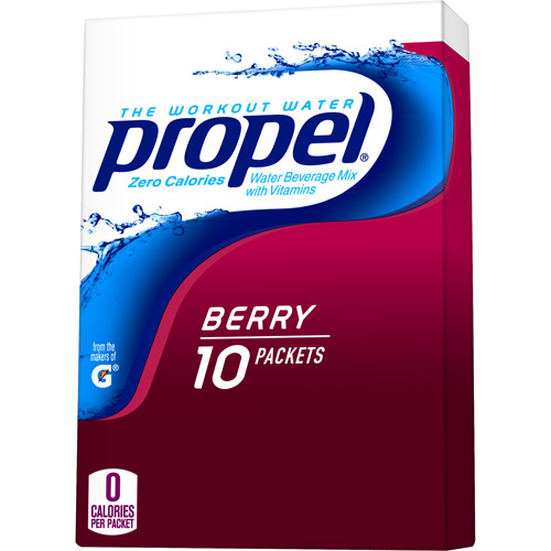 Propel Zero Berry Water Beverage Mix, 0.07 oz, 10 count