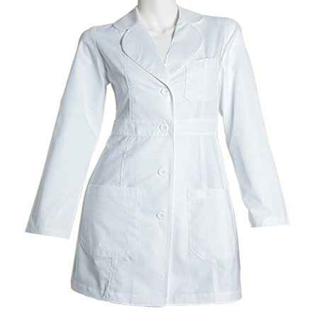 Panda Uniform Made To Order Women's 34 inches Medical Consultation Lab Coat](Green Suit Jacket)