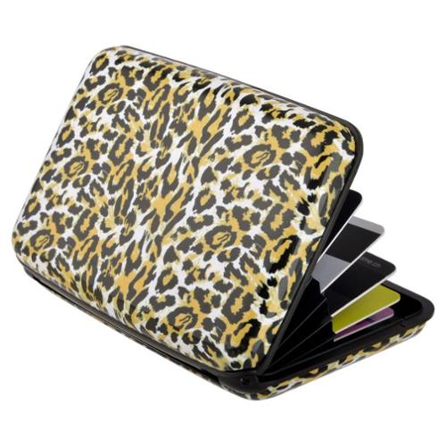 Zodaca Tiger Pocket Business ID Credit Cards Wallet Purse Holder Case Box Pocket Aluminum Metal