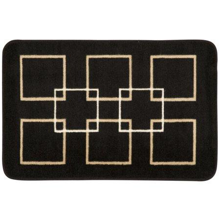 Nourison  Accent Decor Black Rug (1'8 x 2'6) - 1'8