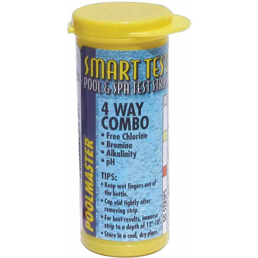 Poolmaster Smart Test 4-Way Test Strips