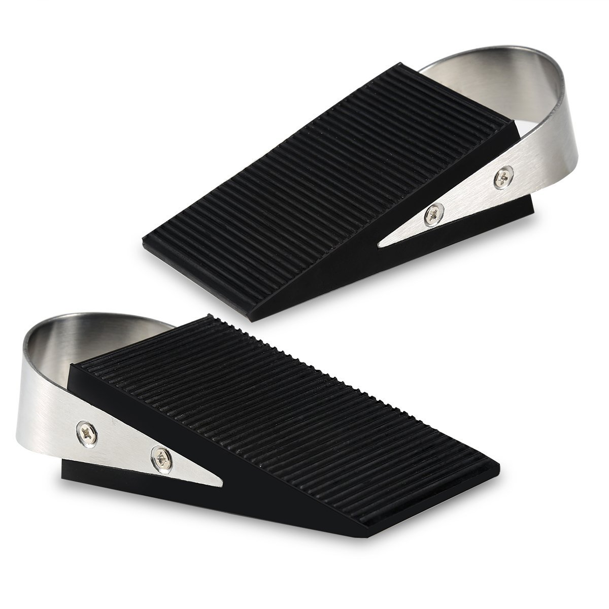 Cade LARGE Rubber Door Stopper 2 Pack with Door Wedge Non-Skid Rubber Office Home  sc 1 st  Walmart & Cade LARGE Rubber Door Stopper 2 Pack with Door Wedge Non-Skid ...