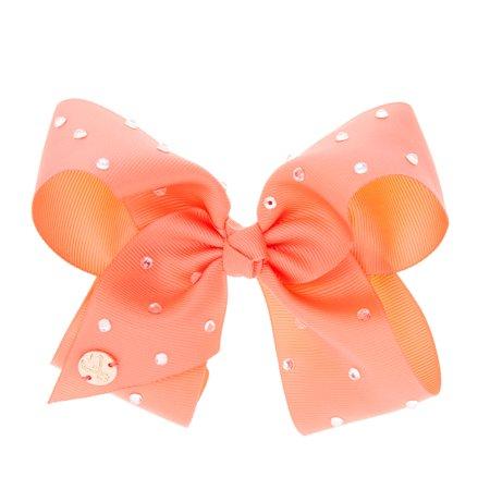jojo siwa medium hair bow coral pink