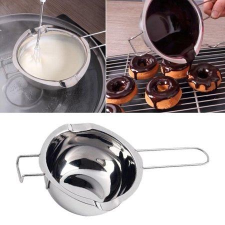 Chocolate Butter Milk Melting Pot,Zerone Stainless Steel Chocolate Butter Milk Melting Pot Pan Kitchen Cookware Tool
