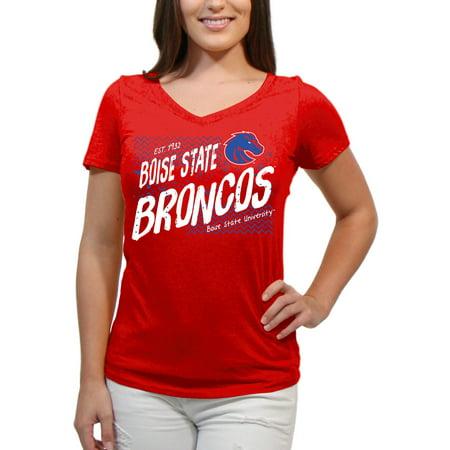 Boise State Broncos Scatter Doodle Women