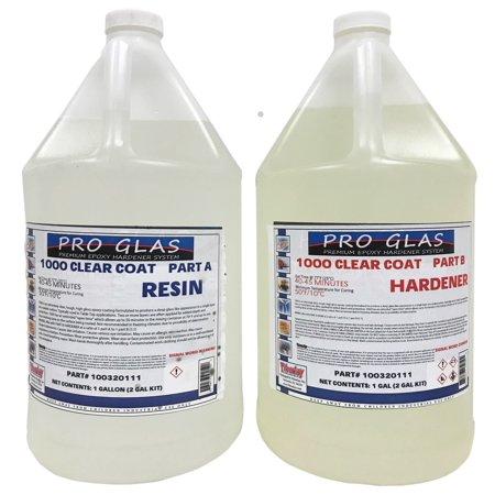 ProGlas 1000 Table Bar Top Clear Epoxy Resin - 2 Gallon
