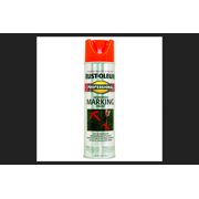 Rust-Oleum Professional Flat/Matte Fluorescent Orange Spray Paint 15 oz.