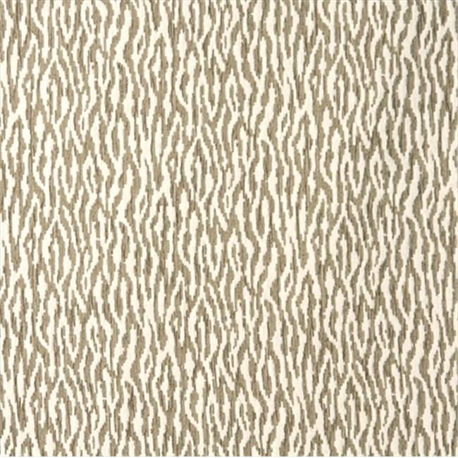 Designer Fabrics E193 54 in. Wide Beige Tiger Pattern Textured Woven Chenille Upholstery Fabric